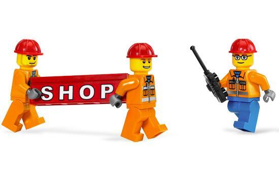Lego City Crane 7633 7633 Lego City