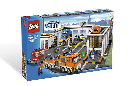 7642 LEGO CITY Garage