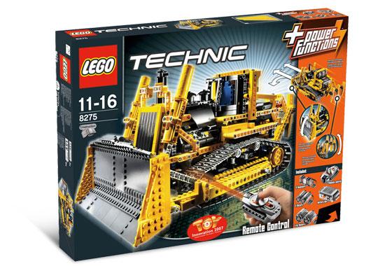 8275 lego technic motorised bulldozer. Black Bedroom Furniture Sets. Home Design Ideas
