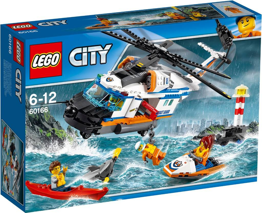 60166 LEGO® CITY Heavy-duty Rescue Helicopter
