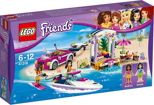 41316 LEGO FRIENDS Andrea's Speedboat Transporter