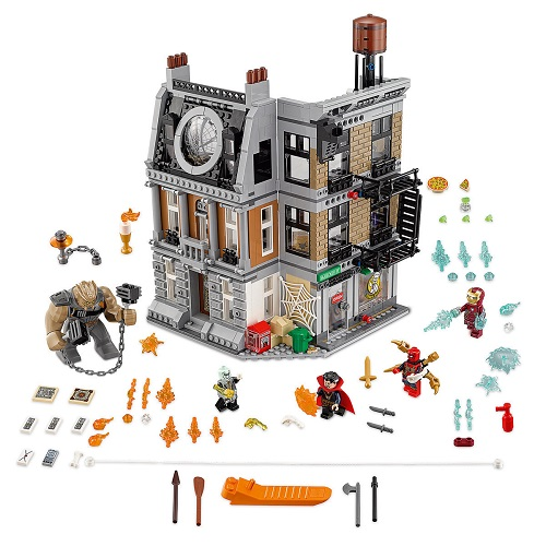 76108 Lego Super Heroes Sanctum Sanctorum Showdown