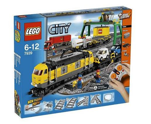 7939 LEGO TRAINS Cargo Train Deluxe