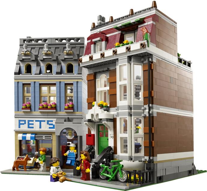 10218 Lego Exclusive City Pet Shop