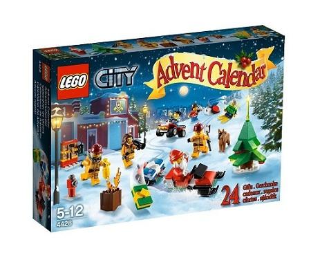 Creased Box 4428 Lego City Advent Calendar