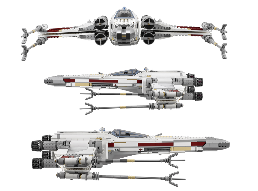 10240 lego star wars ultimate collectors red five x wing. Black Bedroom Furniture Sets. Home Design Ideas