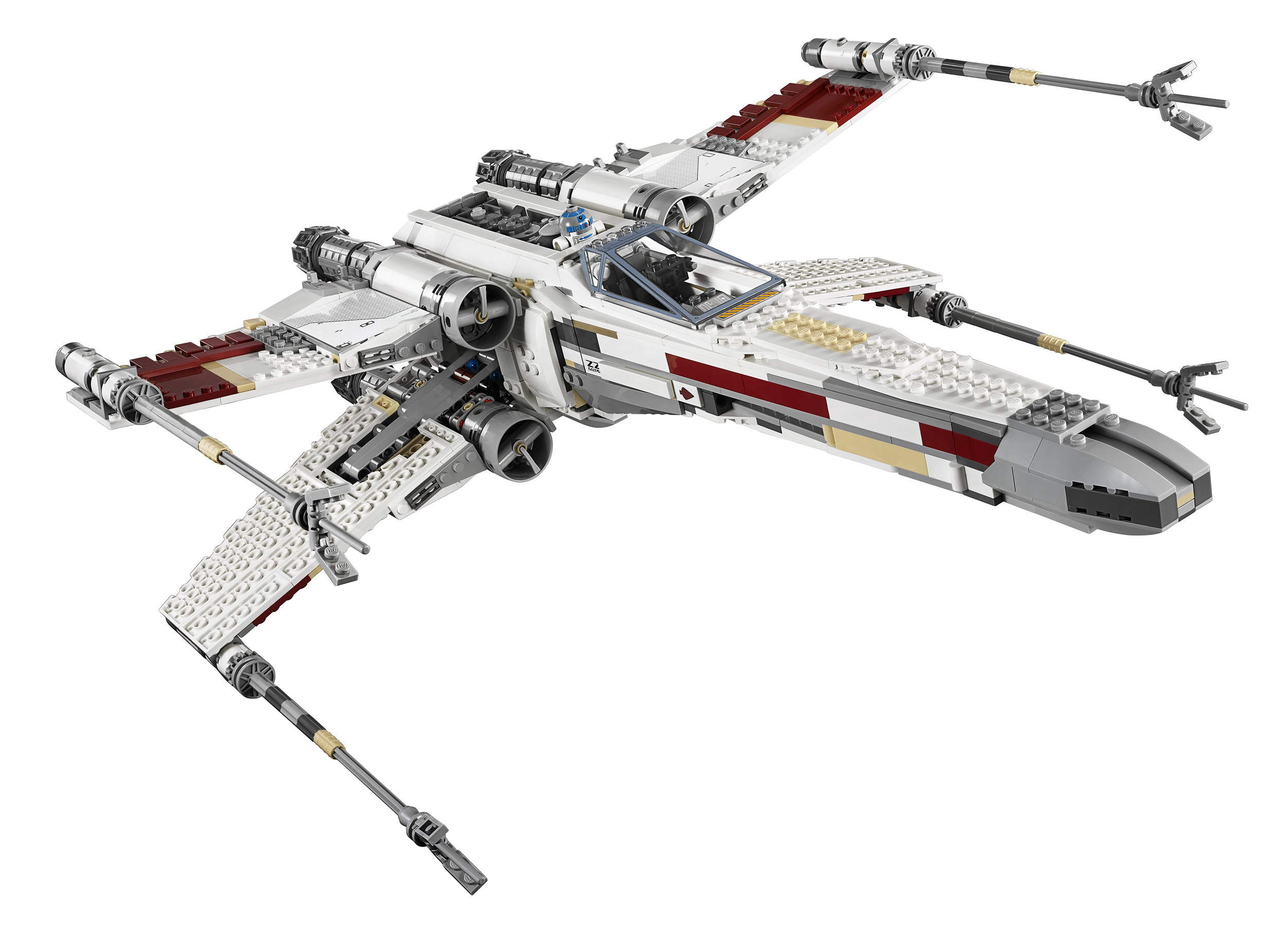 10240 lego star wars ultimate collectors red five x wing starfighter. Black Bedroom Furniture Sets. Home Design Ideas