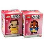 LEGO® BRICKHEADZ Belle and Beast 41595 41596