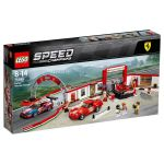 [SLIGHTLY CREASED] 75889 LEGO® SPEED CHAMPIONS Ferrari Ultimate Garage