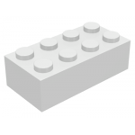 Bulk Lot of 2x4 LEGO® Brick (White)