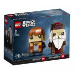 41621 LEGO® BRICKHEADZ Harry Potter™ Ron Weasley™ & Albus Dumbledore™