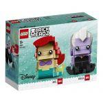 41623 LEGO® BRICKHEADZ  Disney™ Princess Ariel & Ursula