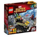 76017 LEGO® SUPER HEROES Captain America vs. Hydra