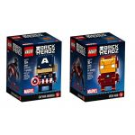 LEGO® BRICKHEADZ Marvel and DC Comics set 41585 - 41592