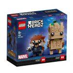 LEGO BRICKHEADZ Marvel Avengers Infinity war set Groot and Rocket 41626