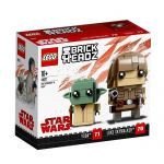 LEGO BRICKHEADZ Star Wars Luke Skywalker and Yoda 41627