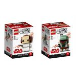 LEGO® BRICKHEADZ Star Wars™ Princess Leia Organa™ and Boba Fett™ 41628 - 41629