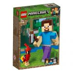 21148 LEGO® Minecraft™ Steve BigFig with Parrot