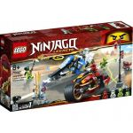 70667 LEGO® NINJAGO Kai's Blade Cycle & Zane's Snowmobile