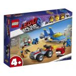 70821 LEGO® THE LEGO® MOVIE 2™ Emmet and Benny's 'Build and Fix' Workshop!