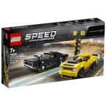 75893 LEGO® SPEED CHAMPIONS 2018 Dodge Challenger SRT Demon and 1970 Dodge Charger R/T