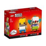 LEGO® BRICKHEADZ Homer Simpson & Krusty the Clown 41632