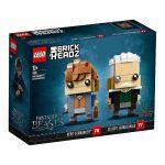 LEGO® BRICKHEADZ Newt Scamander™ & Gellert Grindelwald 41631