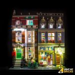 LIGHT MY BRICKS Kit for 10218 Pet Shop
