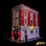 LIGHT MY BRICKS Kit for 75827 Ghostbusters Firehouse HQ