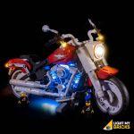 LIGHT MY BRICKS Kit for 10269 LEGO® Fat Boy