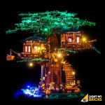 LIGHT MY BRICKS Kit for 21318 LEGO® Tree House