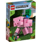 21157 LEGO® MINECRAFT™ BigFig Pig with Baby Zombie