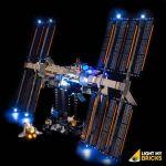 LIGHT MY BRICKS Kit for 21321 LEGO® International Space Station
