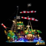 LIGHT MY BRICKS Kit for 21322 PIRATES OF BARRACUDA BAY