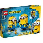 75551 LEGO® MINIONS Brick-built Minions and their Lair