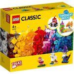 11013 LEGO® CLASSIC Creative Transparent Bricks