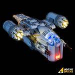 LIGHT MY BRICKS Kit for 75292 LEGO® The Razor Crest™