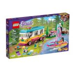 41681 LEGO® FRIENDS Forest Camper Van and Sailboat