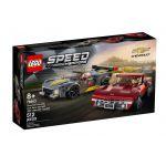 76903 LEGO® SPEED CHAMPIONS Chevrolet Corvette C8.R Race Car and 1968 Chevrolet Corvette