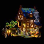 LIGHT MY BRICKS Kit for 21325 LEGO® Medieval Blacksmith