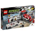 75876 LEGO® Speed Champions Porsche 919 Hybrid and 917K Pit Lane