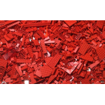 1kg Lots of Pre-Owned RED LEGO®  (PRE-OWNED)