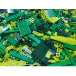 1kg Lots of Pre-Owned GREEN LEGO® (PRE-OWNED)
