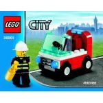30001 LEGO® CITY Fireman's Car