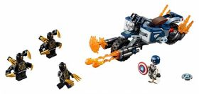 76123 LEGO® Super Heroes Captain America: Outriders Attack