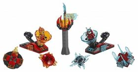 70684 LEGO® NINJAGO Spinjitzu Slam - Kai vs. Samurai