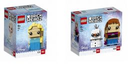 LEGO® BRICKHEADZ Disney™ Princess 41617 - 41618