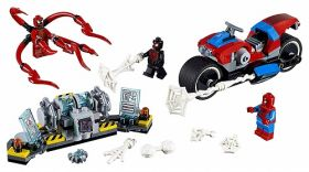 76113 LEGO® Super Heroes Spider-Man Bike Rescue