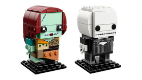 LEGO BRICKHEADZ Jack Skellington and Sally 41630
