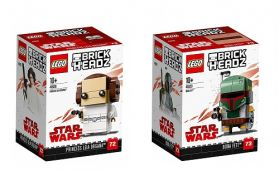 LEGO® BRICKHEADZ Star Wars™ Princess Leia Organa™ and Boba Fett™ 41628 - 41629